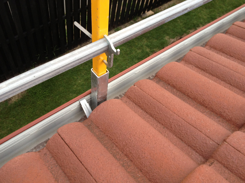 Roof Edge Protection Roof Safety Systems Gold Coast
